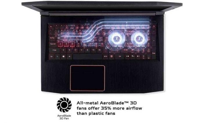 Acer Predator Helios 300 caracteristicas